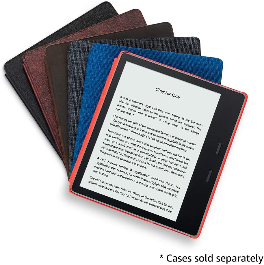 All-new Kindle Oasis Now with adjustable warm light Includes special offers